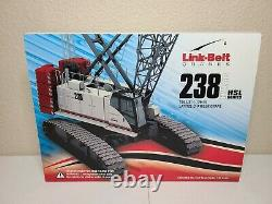 Link-Belt 238HSL Crawler Crane 150 Scale Model #LB128700 New! ConExpo 2020