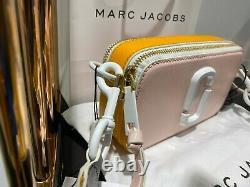 MARC JACOBS Ceramic Snapshot Blush Multi Small Camera Bag 100% AUTHENTIC & NEW