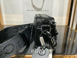 MARC JACOBS Snapshot DTM Black Small Camera crossbody Bag 100% AUTHENTIC & NEW