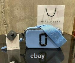 MARC JACOBS Snapshot DTM DREAMY BLUE Small Camera Bag 100% AUTHENTIC & NEW