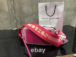 MARC JACOBS Snapshot DTM Pink Small Camera Bag 100% AUTHENTIC & NEW