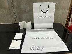 MARC JACOBS Snapshot Logo Strap NEW ROSE MULTI Small Camera Bag 100% AUTHENTIC