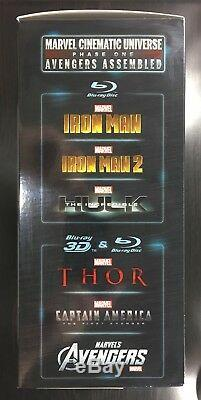 Marvel Cinematic Universe Phase One Avengers Assembled US Version Blu-ray MCU 1