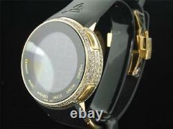 Mens Custom Limited Edition Grammy Gucci Diamond I-Gucci YA114215 Digital Watch