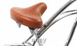 Micargi Cougar GTS, Chrome Men's 26 Beach Cruiser Bike Limited Edition NEW
