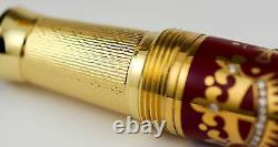 Michel Perchin Diamond & Ruby Gothic Limited Edition Fountain Pen #0/10