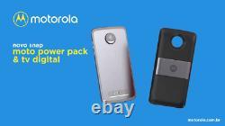 Motorola Moto Mod Digital TV And Battery Power Pack LIMITED EDITION BRAZIL