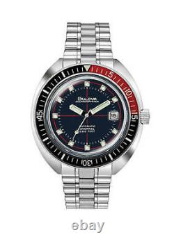 NEW Bulova Men's 98B320 Automatic Devil Diver Special Edition 44mm Watch