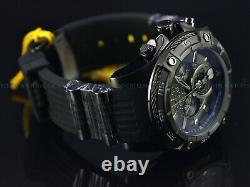 NEW Invicta 52mm LE DISNEY TRIPLE BLACK COMBAT Bolt Viper Chrono SS Black Watch