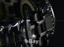 NEW Invicta 52mm Men Limited Ed BLACK LABEL JT CHAOS Ronda Chrono SS Watch