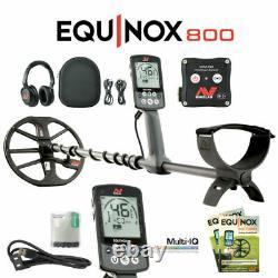 NEW Minelab Equinox 800 Metal Detector DETECNICKS LTD