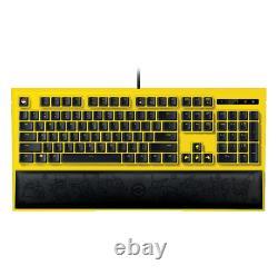 NEW Razer Pokemon Limited Edition Pikachu Gaming Backlight Keyboard