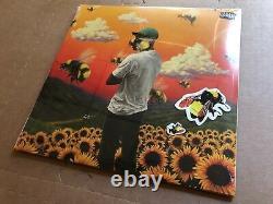 NEW SUPER RARE Tyler, The Creator Flower Boy YELLOW Vinyl 2xLP with stickers