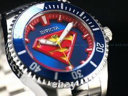 New Invicta 38mm DC Comics Justice League Grand Diver Automatic Superman Watch