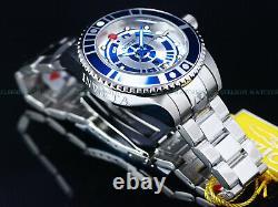 New Invicta Men's 47mm Ltd. Ed. 300M Grand Diver Automatic Silver / Blue SS Watch