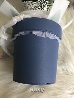 New Kate Spade down the rabbit hole daisy flower pot Blue bag Novelty Collector