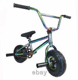 New Limited Edition 1080 Kids Stunt Freestyle Jet Fuel Neo Chrome Mini BMX Bike