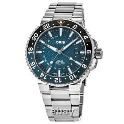 New Oris Aquis Limited Edition Whale Shark Men's Watch 01 798 7754 4175-Set MB
