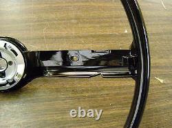New Repro. 1968 1969 Ford Mustang Fairlane Torino Galaxie Steering Wheel Black