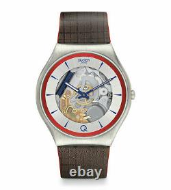 New Swatch X 007 James Bond NO TIME TO DIE Limited Edition Men Q² Watch SS07Z102