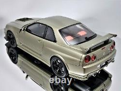 Otto Mobile / Kyosho Nissan Skyline GT-R R34 Nismo Z-Tune Millennium Jade 118