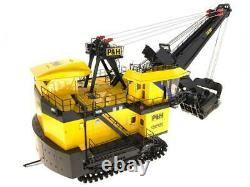 P&H 4100XPC Mining Shovel with Lights 1/50 TWH Weiss Brand New Diecast