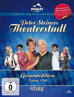 Peter Steiners Theaterstadl Gesamtedition Staffel 1-7 plus EXTRAS 54 DVDs