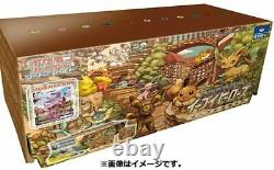 Pokemon Card Eevee Heroes Eevee's Set Gym Box FedEx Expedited Shipping