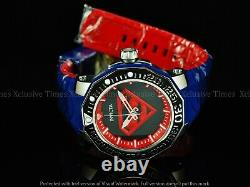 RARE! Invicta 52mm DC Comics SUPERMAN Sea Monster Limtd Ed Automatic Strap watch