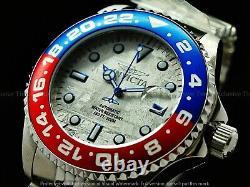 Rare Invicta 45mm Pepsi Bezel Pro Diver Meteorite Dial Auto Jubilee Bracet Watch
