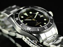 Rare New Invicta 1953 Pro Diver Men's Nh35 Automatic 40mm Black Dial Ss Watch
