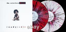Ready To Die The Notorious B. I. G Red White Black Splatter Vinyl Me Please LP VMP