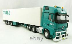 Road Ragers AUSTRALIAN Toll Mercedes Actros 6x4 Prime Mover Reefer Trailer 150