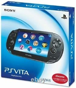 SONY PS Vita PCH-1000 / 1100 Black Model OLED Wi-Fi withBox Mint Condition