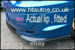 SUBARU Impreza STi V-LTD Blobeye Splitter / Front Lip Spoiler 03-05 HT Autos UK