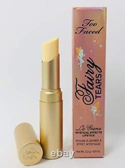TOO FACED La Creme Mystical Effects Lipstick FAIRY TEARS 100% AUTHENTICNEW BOX