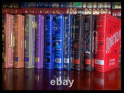 Ten 10 Volume Leather Bound Matching Set Brand New Collectible Classic Stories