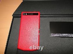 The Elite Blackberry Porsche Design P'9982 Rge111lw 64gb Red Limited Edition