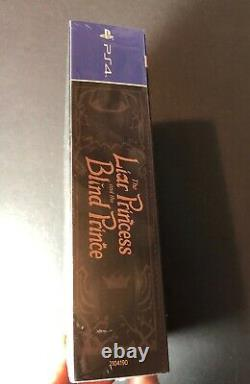 The Liar Princess and the Blind Prince Limited Edition StoryBook (PS4) NEW