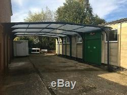 Traditional Apex canopy installed by Pro Port Canopies Ltd from £4995