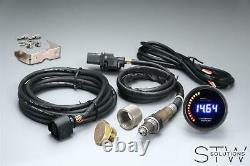 UNIVERSAL Oldtimer Lambda Anzeige Zusatzinstrument inkl. Breitband BOSCH Sonde