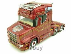 WSI 01-2925 Vlastuin Torpedo 6x2 Truck Prime Mover Vallem Scale 150