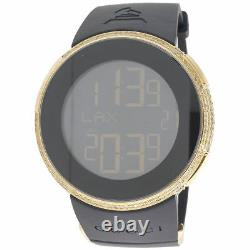 Yellow Diamond I-Gucci Watch Mens Digital Gucci Grammy Edition 2.5 CT. YA114215