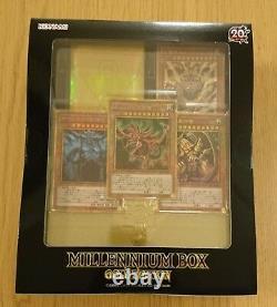 Yu-Gi-Oh OCG Duel Monsters 20th MILLENNIUM BOX GOLD EDITION Konami from Japan